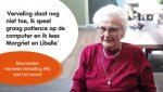Dit betekent binnenblijven voor bewoners: Hanneke Hesseling (90) deelt haar verhaal